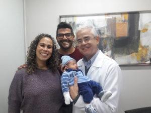 Natalie Coitinho, Carlos Alberto de Almeida e Theo