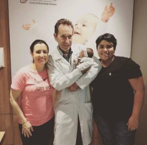 Tailing Gonçalves Neiderauer, Vanessa Leal Silveira e Valentina